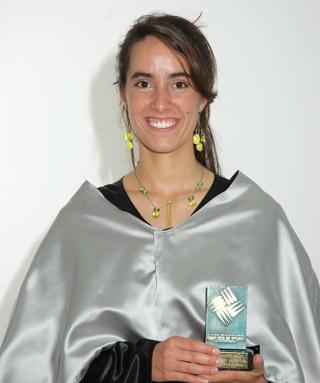 Irene Maestre Premio Optimus 2005-2006