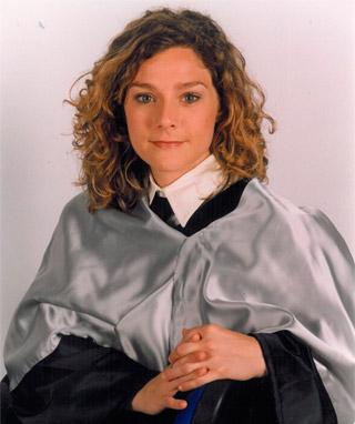 María Belén Chiloeches Premio Optimus 1998-1999