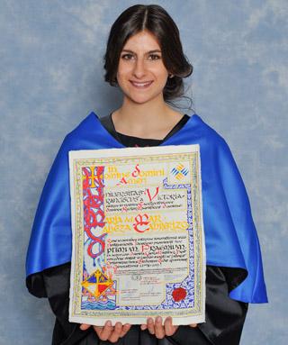 María del Mar Cabeza premio Optimus 2012