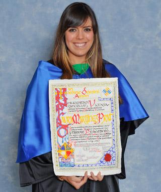 Laura Martinez Premio Optimus 2012