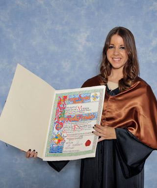 Leticia Rosillo Premio Optimus 2013