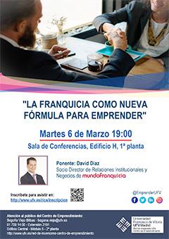 Cartel Franquicia Red de Inversores   Centro de Emprendimiento