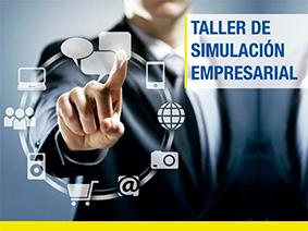Cartel Simulador empresarial Red de Inversores   Centro de Emprendimiento
