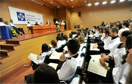 Alumnos UFV en la Graduación