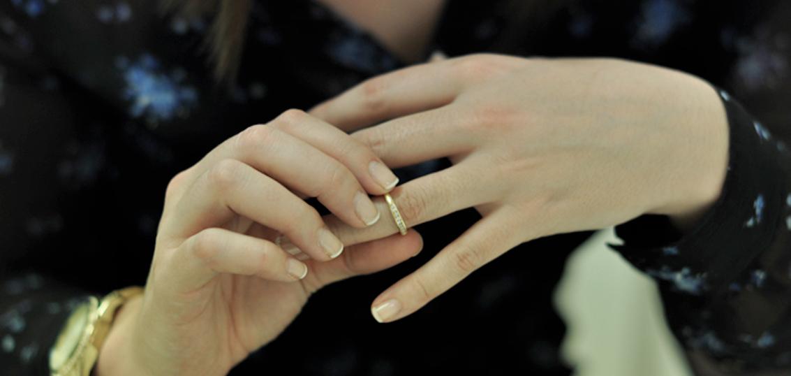 Anillo de casado/a