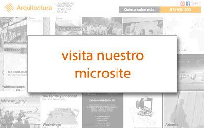 Arquitectura carrera de arquitectura ufv universidad for Grado en arquitectura
