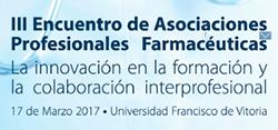 III Encuentro Asociaciones Farmacéuticas