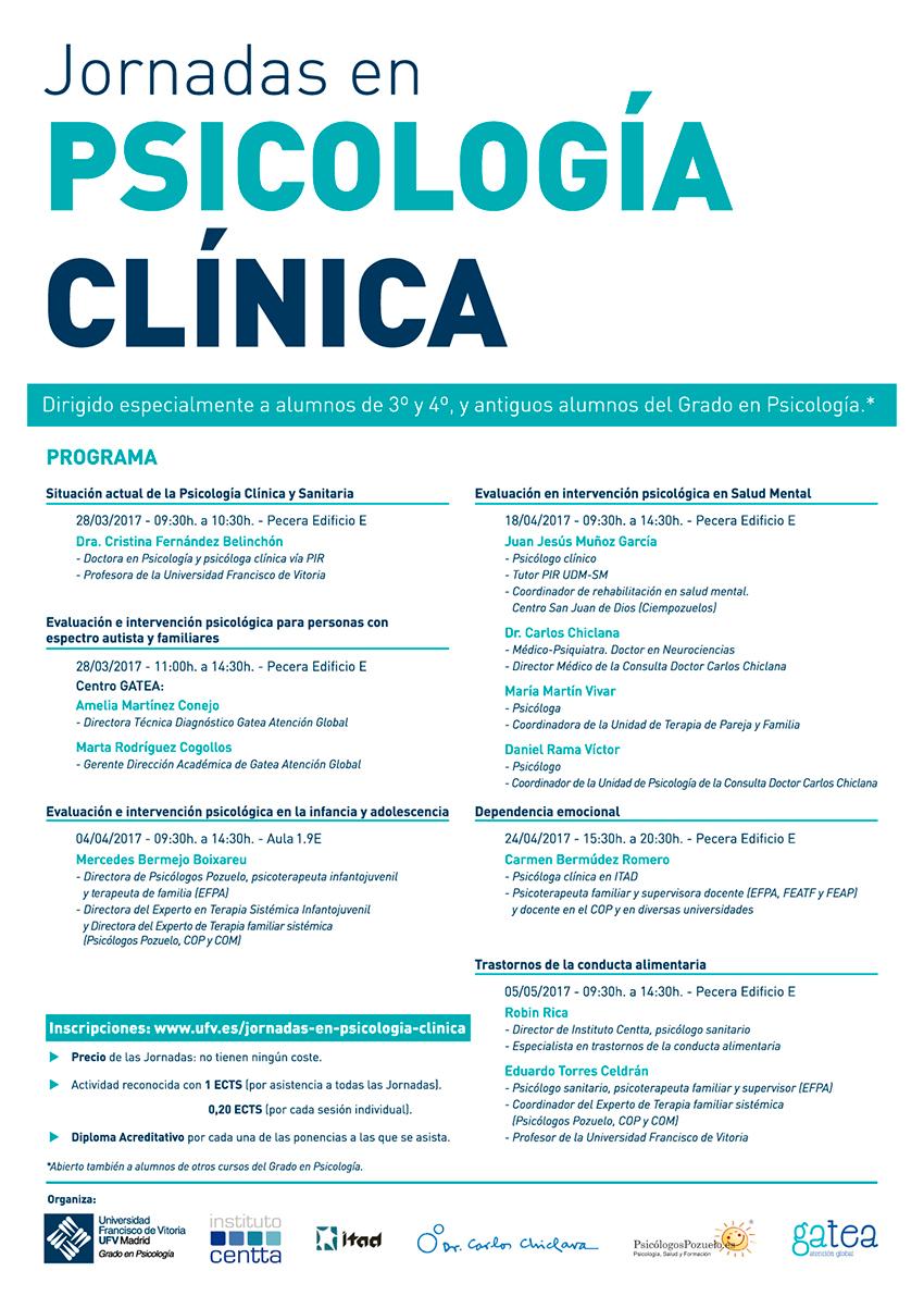 Psicología Clínica - Cartel