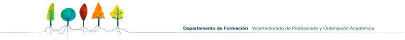 Departamento de Formación - UFV