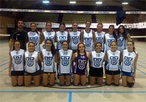 Equipo de Voley femenino UFV