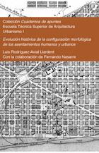 Evolución histórica de la configuración morfológica de los asentamientos humanos y urbanos.
