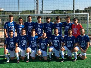 Equipo UFV de fútbol 11 masculino