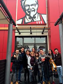 Visita a KFC