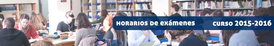 Horarios de exámenes UFV 2015-2016