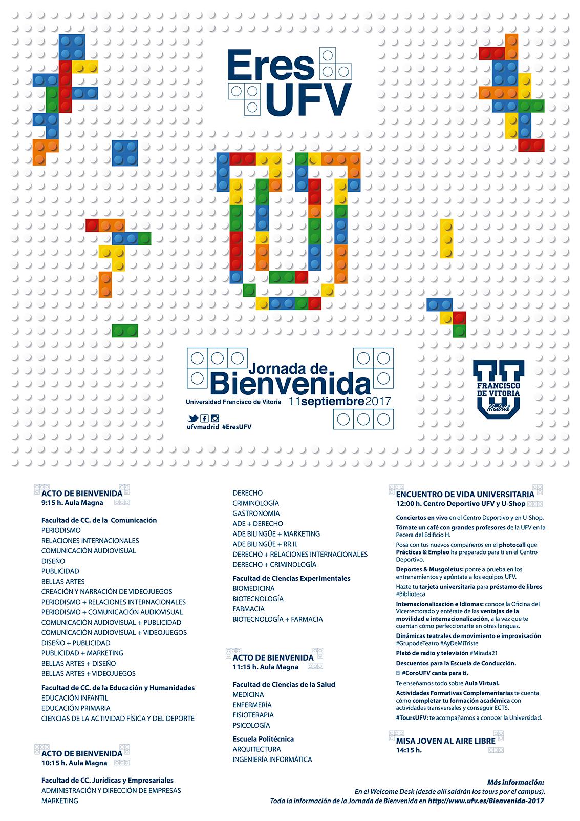 Jornada de bienvenida 2017 - Programa