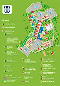 Campus UFV - Cómo llegar