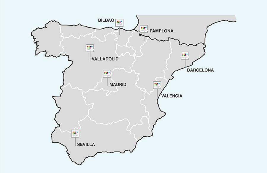 Mapa España Cetys