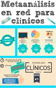 Curso de Metaanálisis en red para clínicos