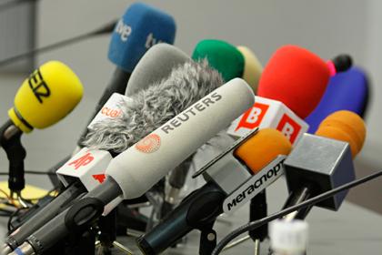 Presencia mediática en rueda de prensa