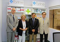 Aula Simulada de Oficina de Farmacia junto a COFARES