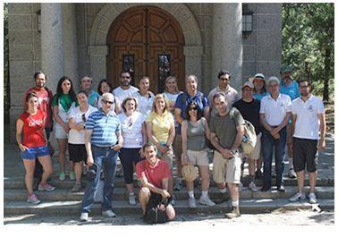 Salida Escorial - Padres UFV - 2011-2012