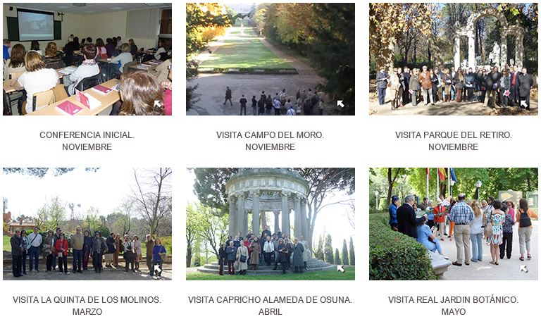 Jardines Históricos de Madrid
