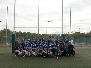 Equipo UFV de rugby masculino