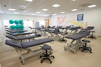 Sala Demostración Fisioterapia
